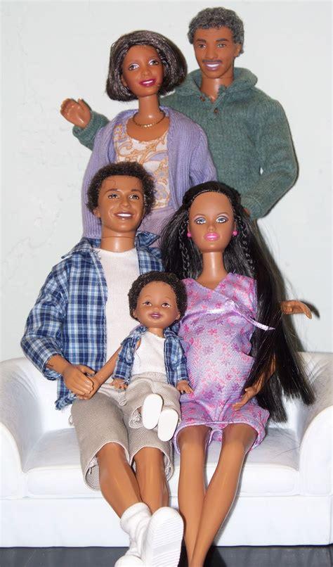 black doll family roxanne s dolls a happy family