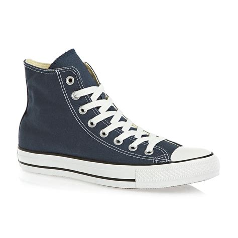 converse all hi shoes navy free uk delivery on