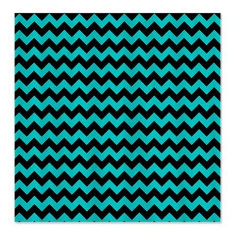 chevron black and teal shower curtain chevron