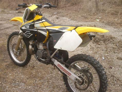 1998 suzuki rm 250 motocross 2 stroke dirt bike