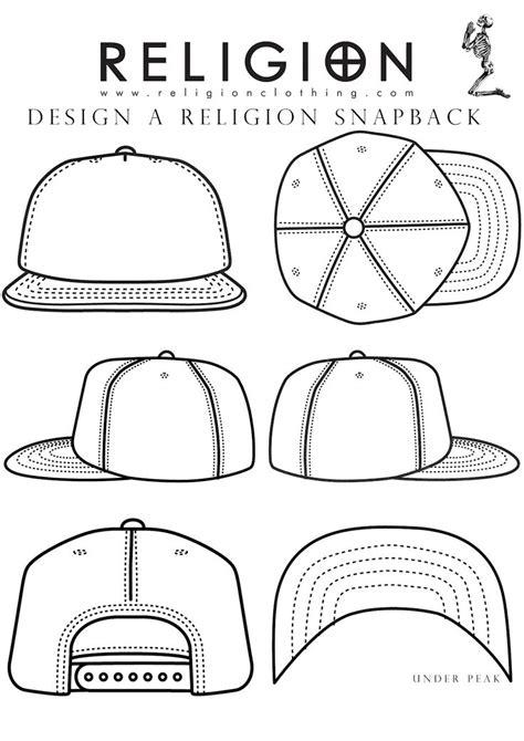 hat template for adobe illustrator snapback template i can do it design garment