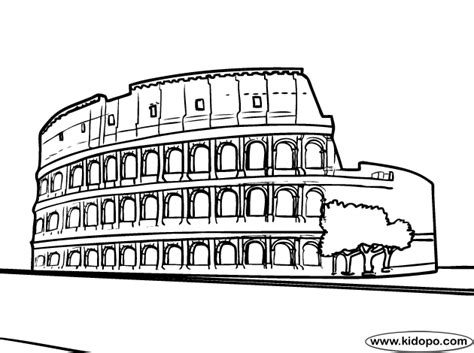 Rome 4 Coloring Page Rome Coloring Pages