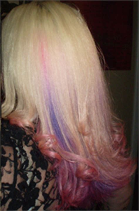 brandi granville natural hair colir special effects hair dye cupcake pink pictures and reviews