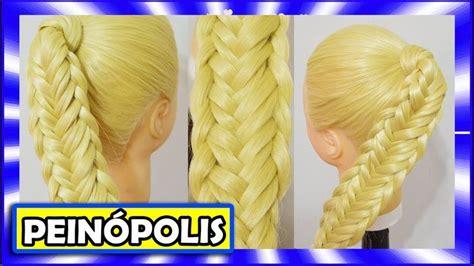 imagenes de uñas paso x paso peinados con trenzas faciles y rapidos para cabello largo