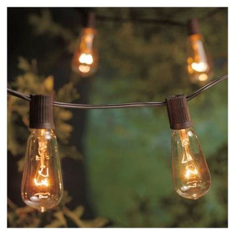 Edison Filament Bulb String Lights Inspiration For The Edison Light String