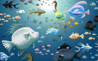 Download image 3d Fish Tank Wallpapers For Desktop PC, Android, iPhone