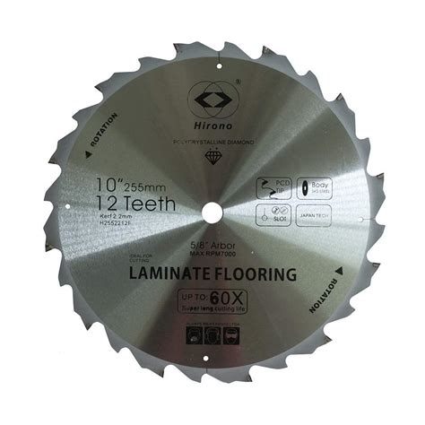 10 laminate flooring saw blade pcd fiber cement circular saw blades 7 1 4 by 12 teeth