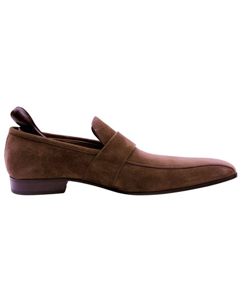 loafer shoes sale bally designer brown suede leather s loafer shoes on sale