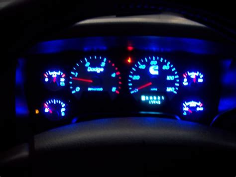 check gages light dodge ram got my recon cab lights done and gauge cluster modified
