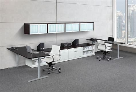 ndi office furniture elements pneumatic sit stand desk