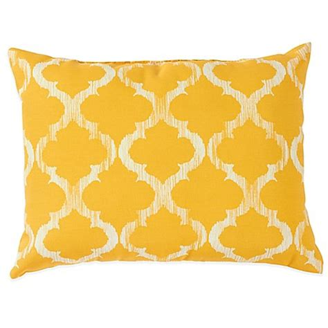 yellow bed pillows enhance outdoor throw pillows in yellow bed bath beyond