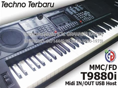 Keyboard Techno T9800i Baru Keyboard Techno Jual Keyboard Techno Terbaru Grahasta 021 64714440 Hp 0812 1980 1973