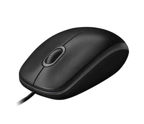 Mouse Logitec B100 Murah logitech b100 optical wire mouse black new