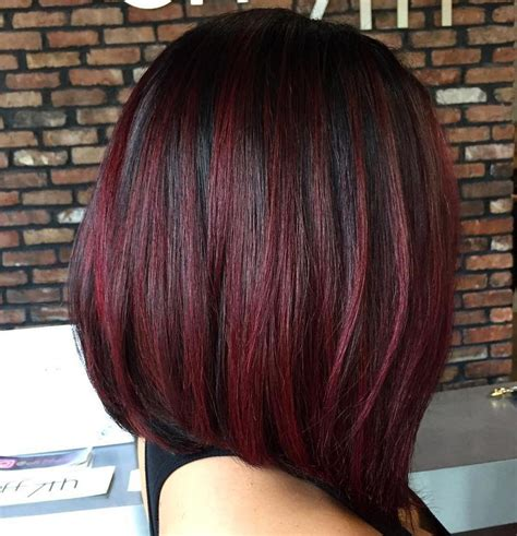 cherry hair color black cherry hair color idea how to rock black cherry