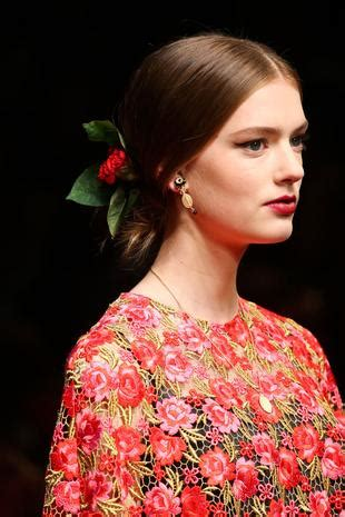 hairstyles for women in spain dolce gabbana hairstyles 2015 and spanish hair