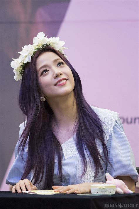 Light Purple by 7 Photos Of Blackpink Jisoo S Enchanting Purple Hair Will