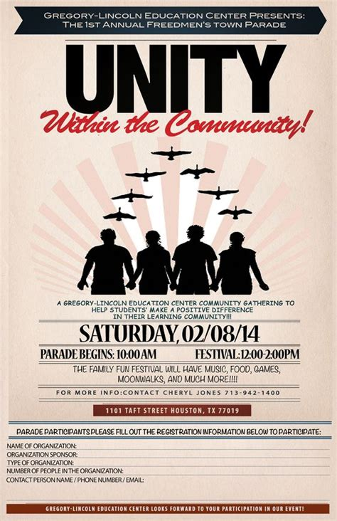 unity layout event flyers the o jays and the community on pinterest
