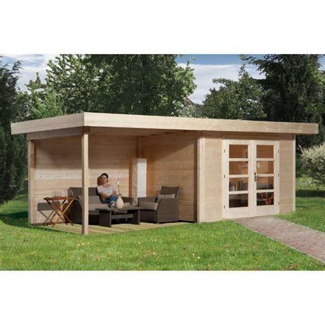 solde abri de jardin bois abri jardin bois quot chillout 3 quot 28 mm appentis ferm 233 300 cm abri de jardin en bois achatmat