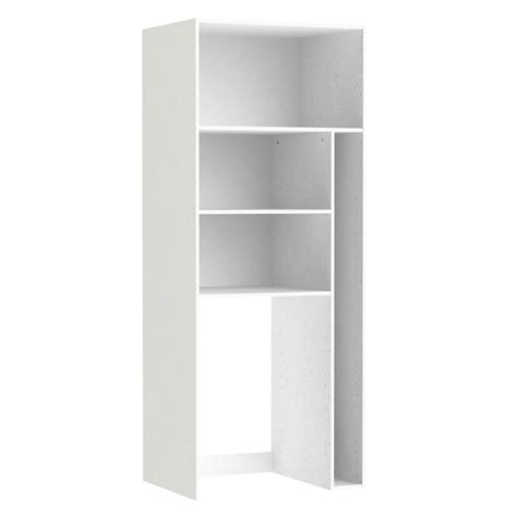 Caisson Armoire Leroy Merlin 3799 by Caisson Buanderie Spaceo Home 200 X 80 X 60 Cm Blanc