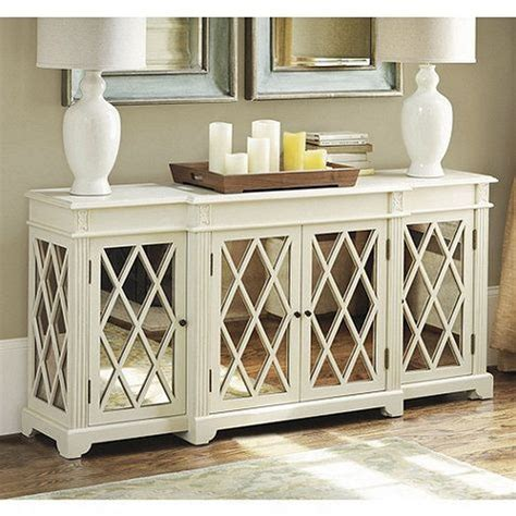 white mirrored buffet cabinet the best mirrored buffets and sideboards on pinterest