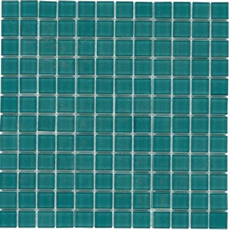 turquoise glass tile backsplash glass mosaic tile backsplash turquoise 1x1