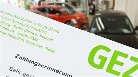 Rundfunkbeitrag Auto by Gez Frageb 246 Gen Zum Neuen Rundfunkbeitrag Liegen Lassen
