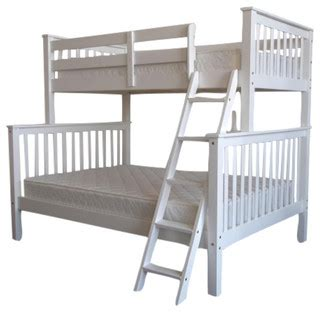bunk bed box spring bedz king bedz king bunk beds twin over full white