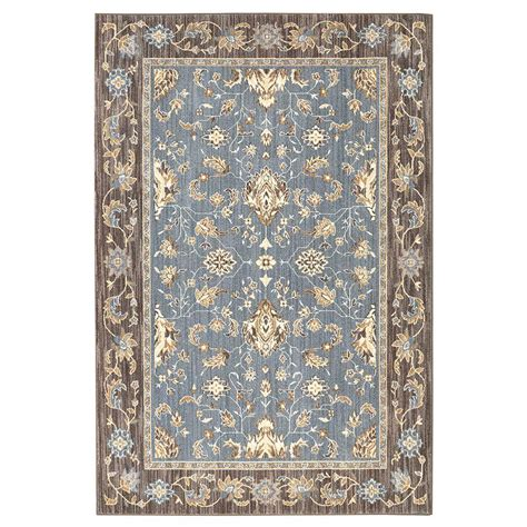 5x5 rugs home depot upc 086093511944 perfection sea blue 3 ft 5 in x 5 ft 2 in area rug upcitemdb