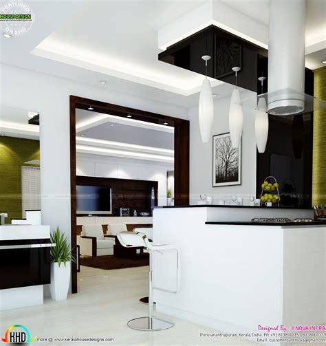home interior designs   nova infra kerala home design