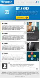 Newsletter Templates Email by Clean Business Email Newsletter Template On Behance