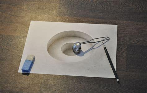 How To Make Paper Look 3d - asombrosos dibujos en 3d en el foro de todo un poco