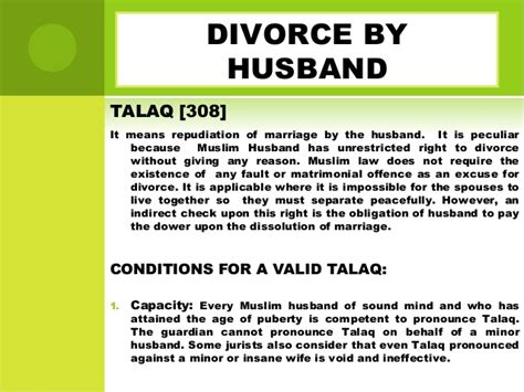 Divorce Letter In Islam Divorce Muslim