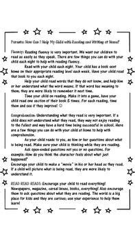 Great parent letter for parent night, or open house! Tells