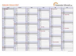 Kalender 2018 Hessen Kostenlos Feiertage 2017 Hessen Kalender