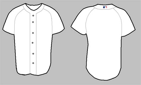 12 baseball jersey template vector images baseball
