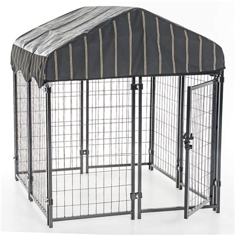 lucky resort lucky pet resort kennel w cover 52 quot h x 4 w x 4 l entirelypets