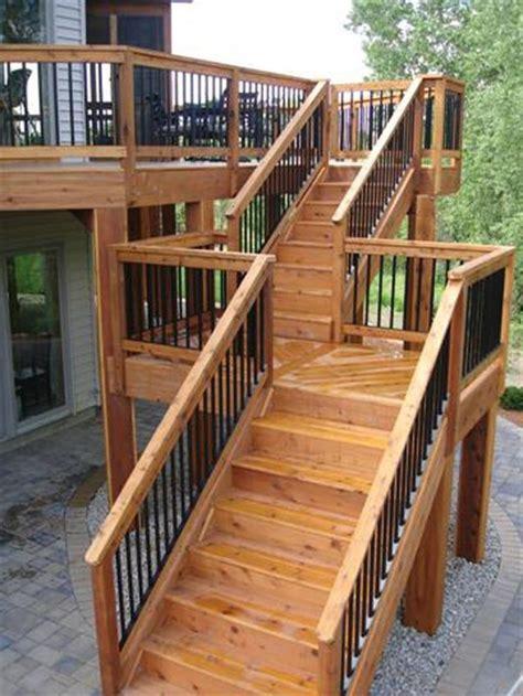 prefab steps lowes prefabricated exterior premade deck