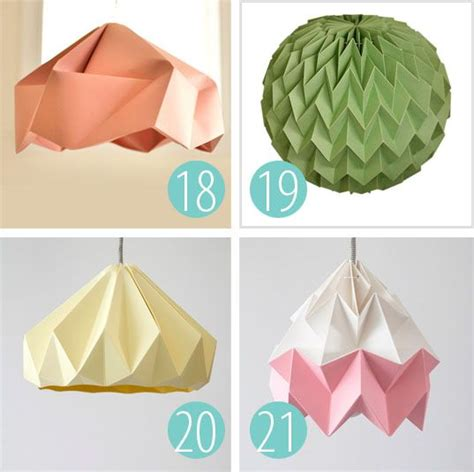 How To Make Origami Lshade - 25 b 228 sta origami l id 233 erna p 229