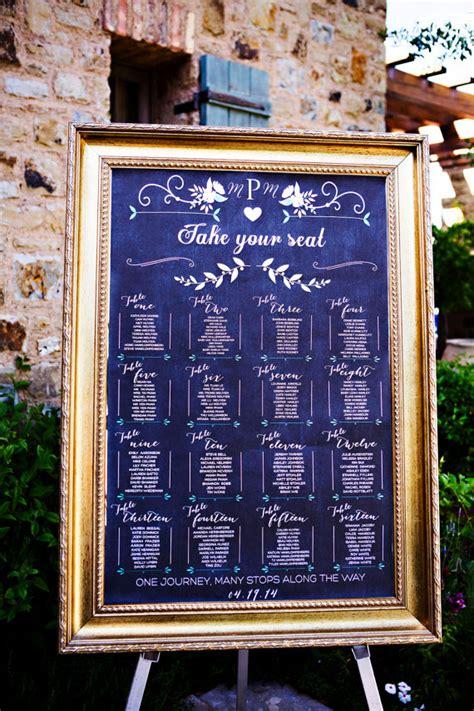 wedding table assignment chalkboard wedding table assignments board wedding by