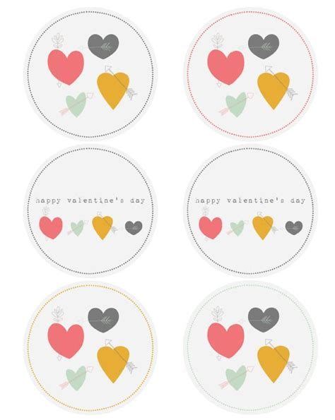 printable heart stickers free 1000 images about valentine s day labels templates and