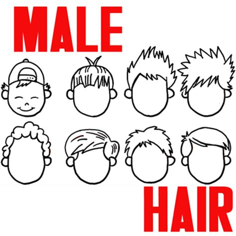 The Hair Book Easy Steps To Great By Lau And Sam Koh how to draw boys and mens hair styles for
