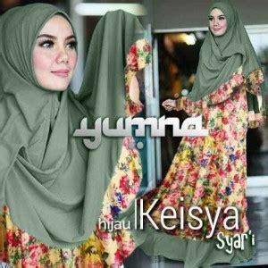 Gamis Abaya Sintia Syar I Flower Pesta Bergo gamis bergo keisya bunga y1190 baju muslim cantik
