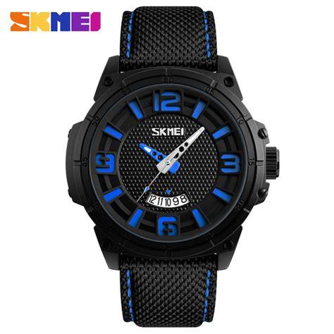 Jam Tangan Denim Blue skmei jam tangan analog design pria 9170 blue jakartanotebook