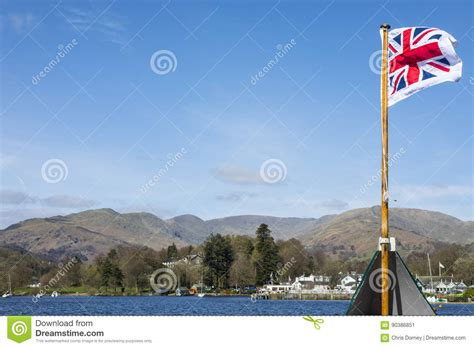 boat trip on windermere boat trip on lake windermere stock image image of