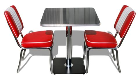 American Diner Table And Chairs by American Diner Furniture Retro Diner Sets 50s American