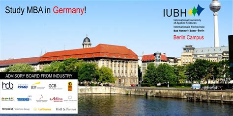 European Business School Mba Germany by Mba In Germany Admission To Iubh