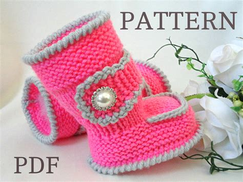 knitting pattern ugg boots knitting pattern baby booties baby shoes knitted baby uggs
