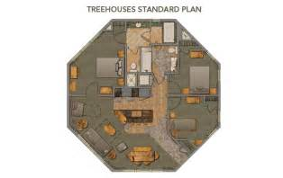 saratoga springs treehouse villa floor plan tree house inside tree houses pinterest