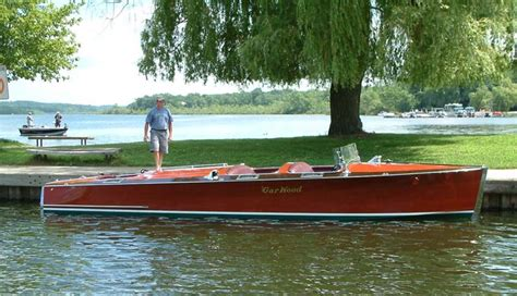 garwood wooden boats classic runabouts and antique boats for sale vintage marine