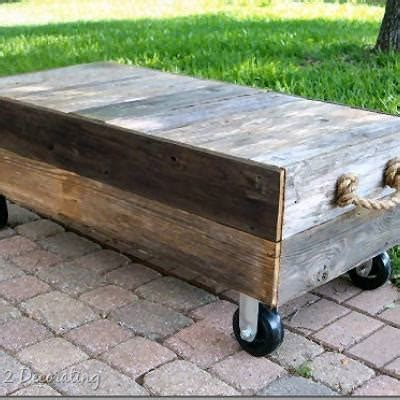 how to make a cart coffee table inspired by restoration